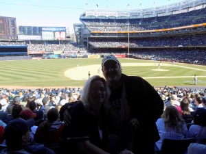 me and ej at yankees